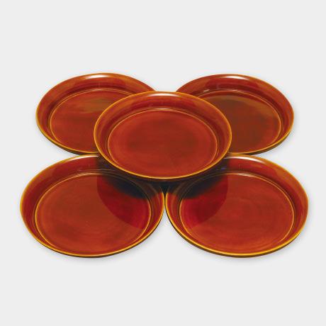 花銘々皿 4.5寸