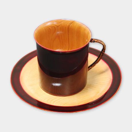 コーヒーカップ 紅