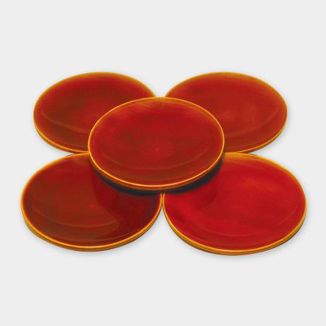 丸銘々皿 4.5寸