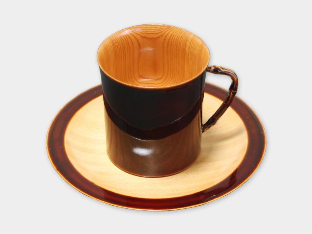 飛騨春慶塗 伝統工芸品 コーヒーカップ 1