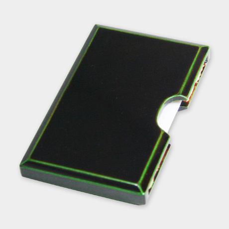 カード・名刺ケース 緑