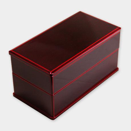 弁当箱 二段 紅