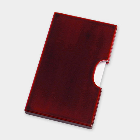カードケース スリム 紅