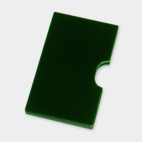 カード・名刺ケース スリム 緑