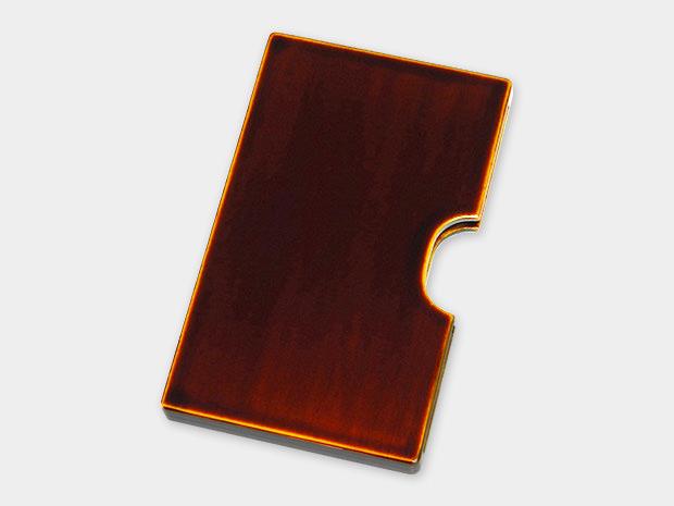 飛騨春慶塗 伝統工芸品 カード・名刺ケース スリム 1