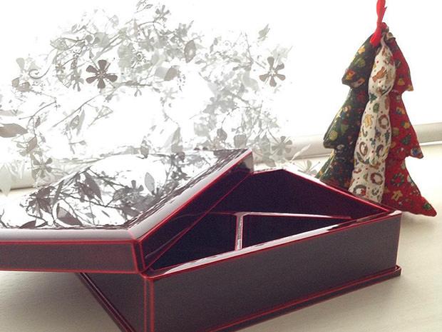 飛騨春慶塗 伝統工芸品 弁当箱 一段 紅 3