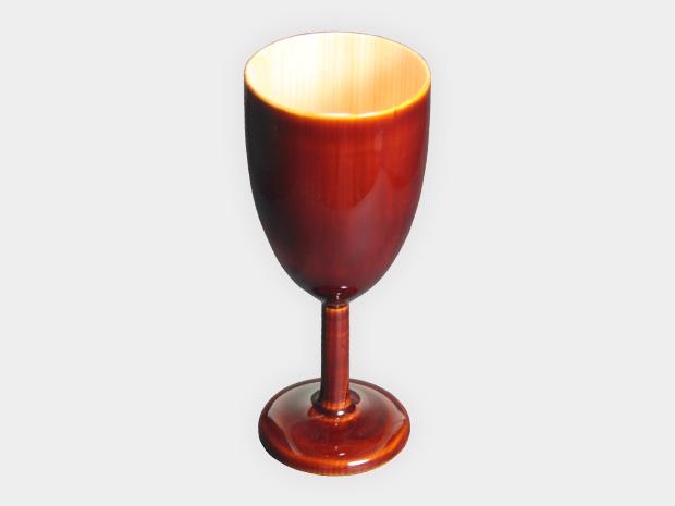 飛騨春慶塗 伝統工芸品 ワイングラス 1