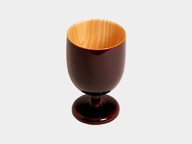 飛騨春慶塗 伝統工芸品 ワイングラス ミニ 1