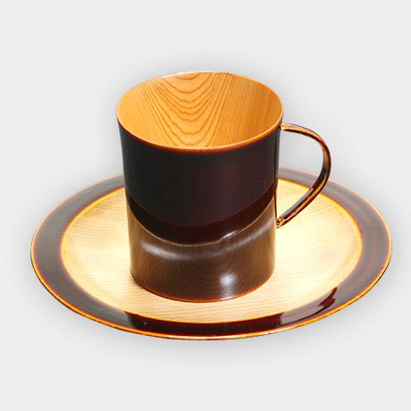 飛騨春慶塗 コーヒーカップ デミタス