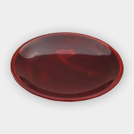 豆皿 小(椀型)銀箔 紅