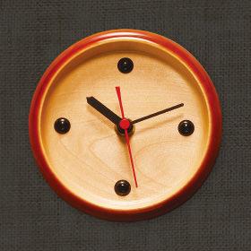 飛騨春慶塗 時計