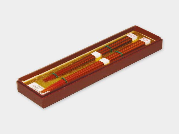 飛騨春慶塗 伝統工芸品 箸漆2入箱入 1