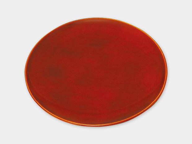 飛騨春慶塗 伝統工芸品 丸皿 7寸 1