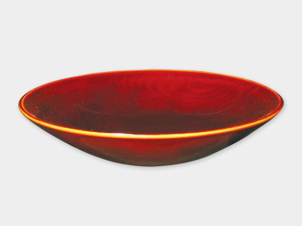 飛騨春慶塗 伝統工芸品 盛器 6寸 1