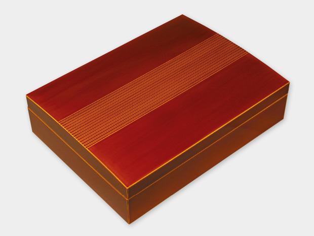 飛騨春慶塗 伝統工芸品 書類箱 1