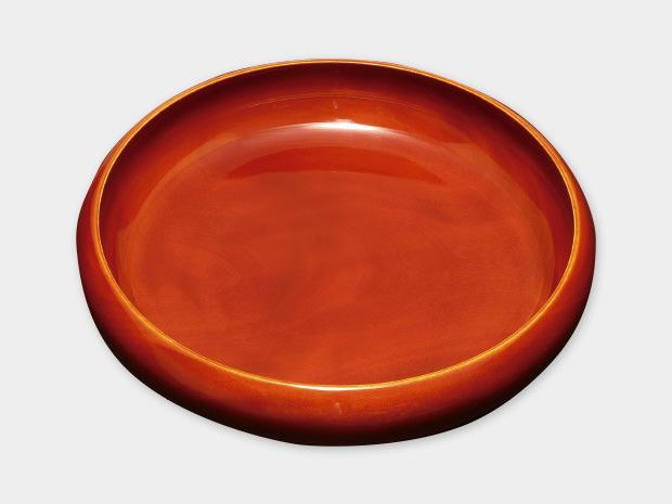 飛騨春慶塗 伝統工芸品 鉄鉢菓子器 6寸 1