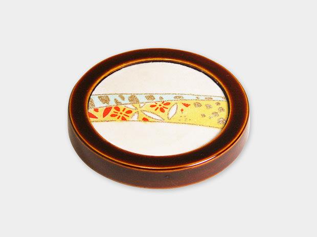 飛騨春慶塗 伝統工芸品 コースター(布張) 1