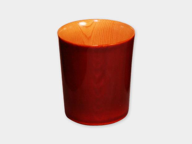 飛騨春慶塗 伝統工芸品 コップ 紅 1