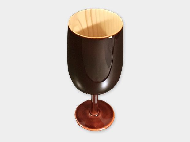 飛騨春慶塗 伝統工芸品 ワイングラス (2018) 1