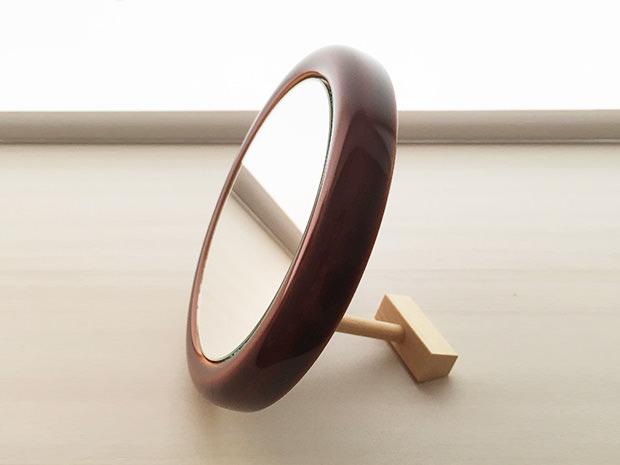 飛騨春慶塗 伝統工芸品 ミラー(鏡) 2