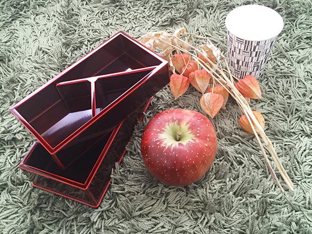 飛騨春慶塗 伝統工芸品 弁当箱 二段 紅 3