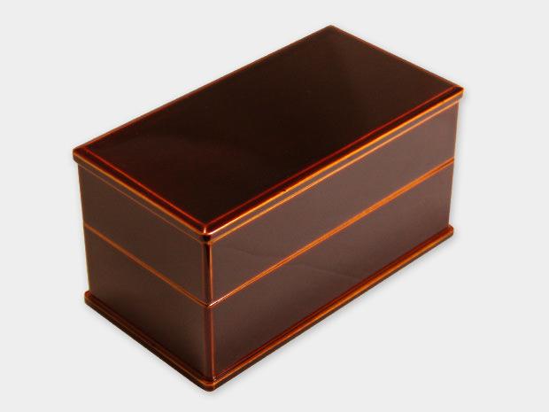 飛騨春慶塗 伝統工芸品 弁当箱 二段 1