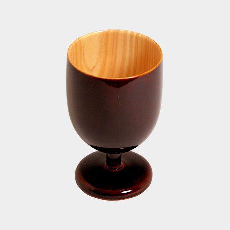 飛騨春慶塗 ワイングラス ミニ