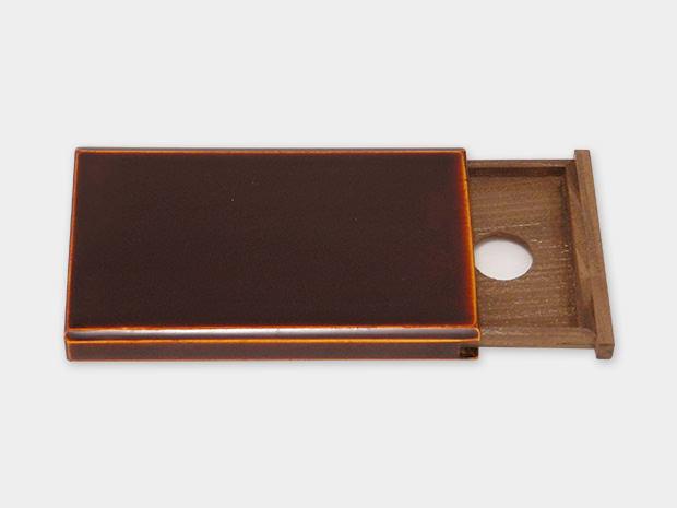 飛騨春慶塗 伝統工芸品 カード・名刺ケース スライド式 小 1