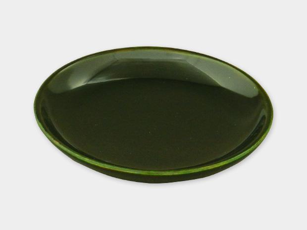 飛騨春慶塗 伝統工芸品 豆皿 小(椀型)緑 1