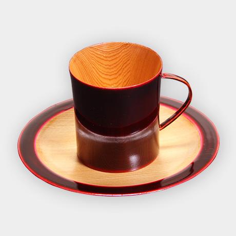 コーヒーカップ デミタス 紅