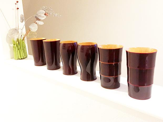 飛騨春慶塗 伝統工芸品 タンブラー A 紅 3