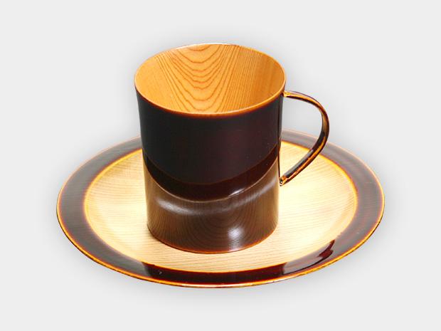 飛騨春慶塗 伝統工芸品 コーヒーカップ デミタス 1
