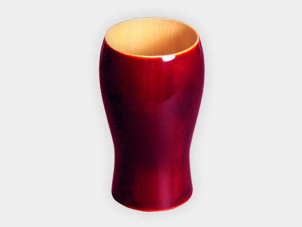 飛騨春慶塗 伝統工芸品 タンブラー B 紅 1