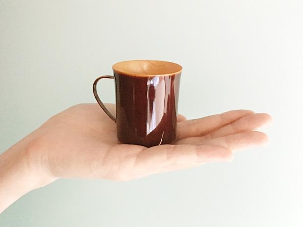 飛騨春慶塗 伝統工芸品 コーヒーカップ デミタス 3
