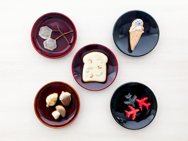 飛騨春慶塗 伝統工芸品 豆皿 小(深型)栃杢 3