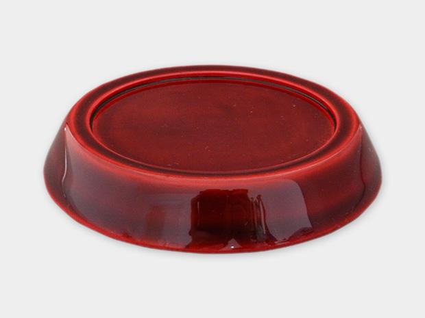 飛騨春慶塗 伝統工芸品 豆皿 小(深型)紅 2
