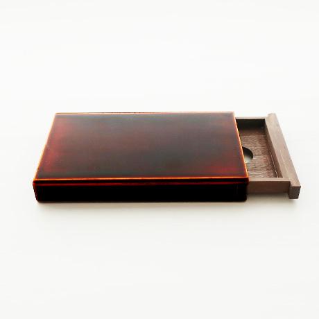 飛騨春慶塗 カードケース スライド式 大
