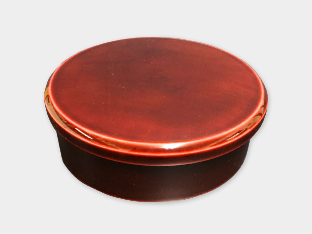 飛騨春慶塗 伝統工芸品 弁当箱 丸型 5寸 1