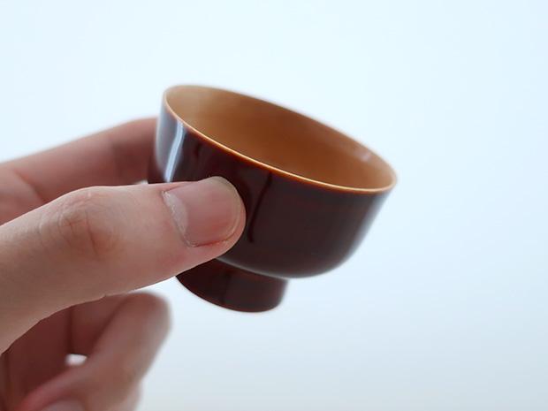 飛騨春慶塗 伝統工芸品 ぐい呑み(おちょこ)A 2