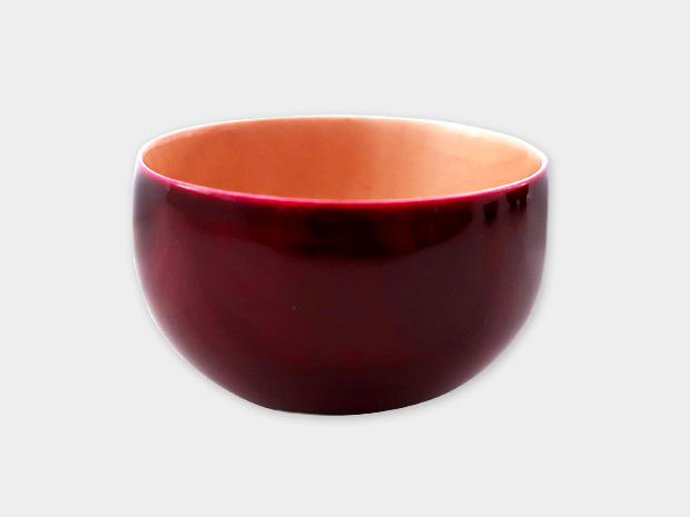 飛騨春慶塗 伝統工芸品 ぐい呑み(おちょこ)B 紅 1