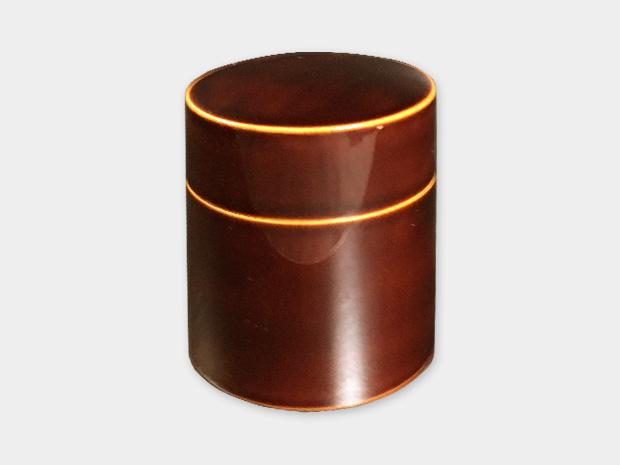 飛騨春慶塗 伝統工芸品 茶筒 1