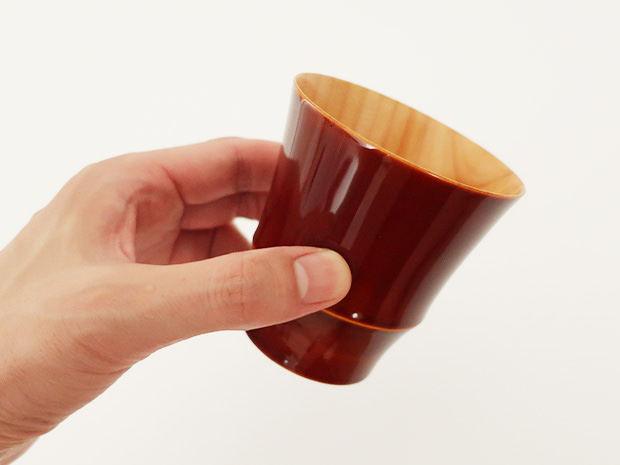 飛騨春慶塗 伝統工芸品 焼酎カップ 小 2