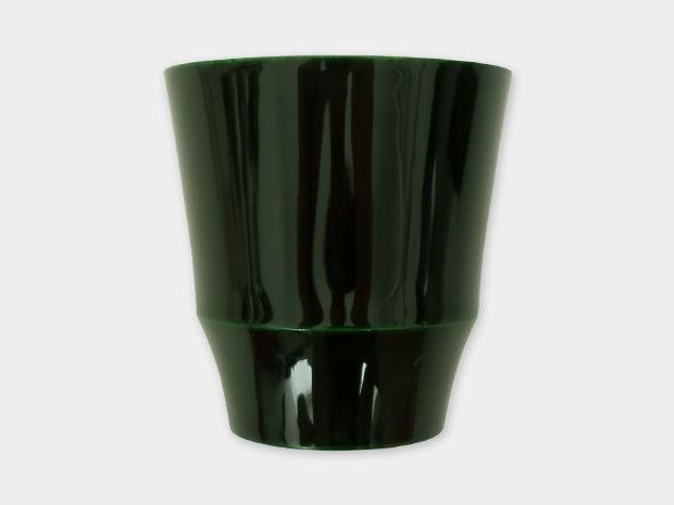 飛騨春慶塗 伝統工芸品 焼酎カップ 小 緑 1