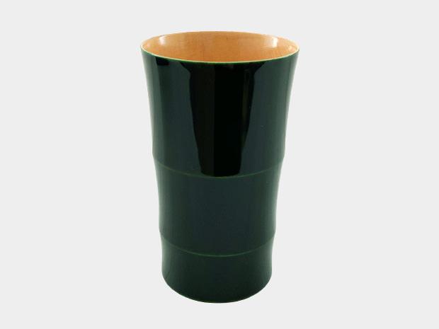 飛騨春慶塗 伝統工芸品 タンブラー C 緑 1
